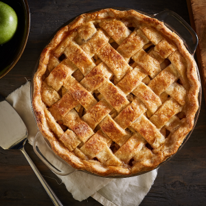 Apple pie - homemade