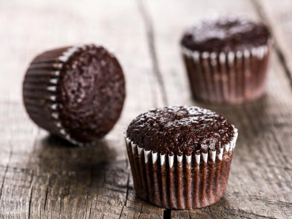 German Chocolate Cupcakes - homemade