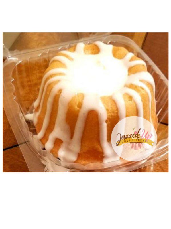 Mini bundt cake - homemade