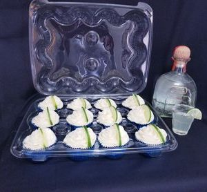 Margarita Cupcakes - homemade