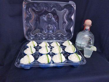 Margarita Cupcakes - homemade
