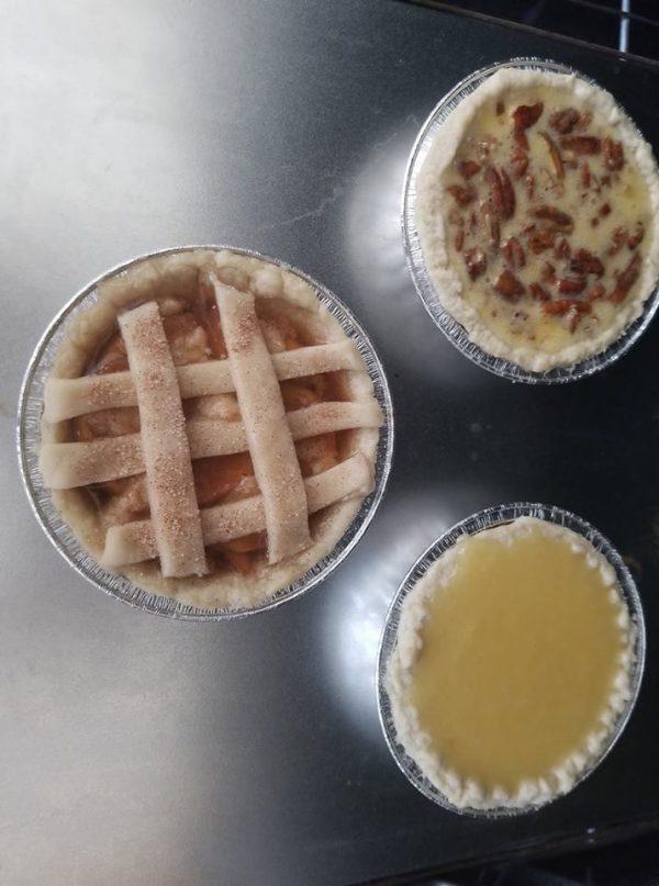 mini homemade pies