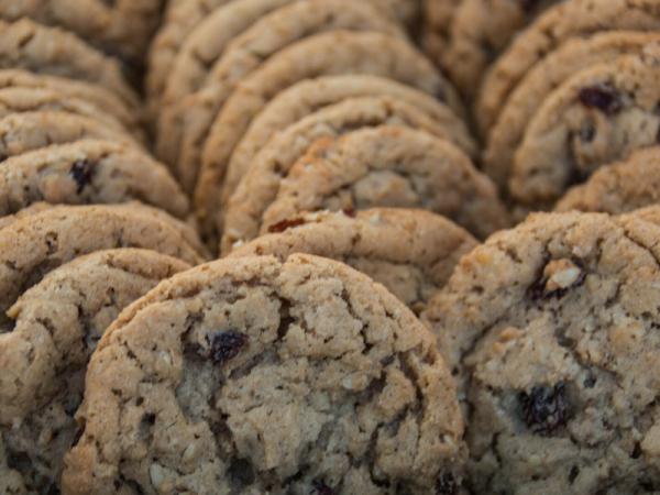 Oatmeal Raisin Cookies - homemade