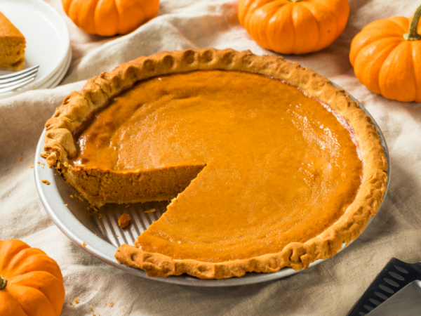 Pumpkin Pie - homemade