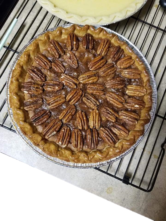 Pecan Pie- homemade